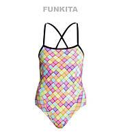 СКИДКА! Сдельный купальник для девочек Funkita Powder Puff FS34