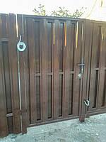 Забор штакетный секционный стандарт двухсторонний 3м*1,5м,Евроштакетник Киев