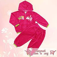 Велюровый костюм для малышей Рост:68-74 см (5232)