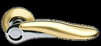Ручка дверная на розетке Armadillo Ursa золото (Китай)