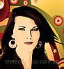 Поп Арт портрет на синтетическом холсте