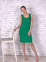 Домашняя одежда женская_Платья женские трикотажные_Платье для женщины 525/S/зеленый в наличии S р., также есть: S, Роксана_ЦС
