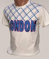 Мужская футболка с полосочками 126-7