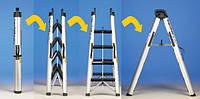 Складывающаяся лестница SUPERFOLD (2,75 m) SVELT (SUPERFOLD)