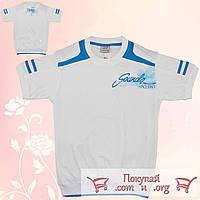 Белые футболки для подростков от 10 до 16 лет Турция (5235-3)