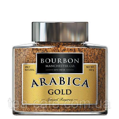 """Кофе """"Bourbon""""  Arabica Gold 100г. с/б"""