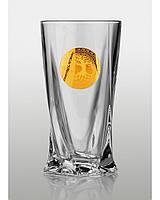 Quadro набор стаканов для напитков (Edem золото) 6 шт.