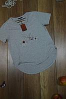 Женская прямая футболка с V-образным вырезом Турция, фото 1