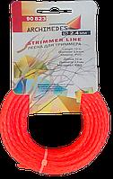 Жилка для триммера 2,4 мм*12м кручена