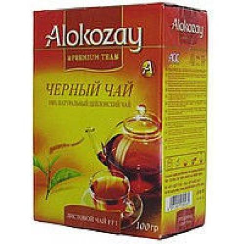 Чай Alokozay чёрный мелколистовой  100г