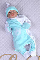 """Красивый человечек для новорожденного """"Королевский""""., фото 1"""