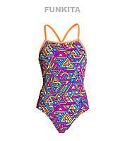 Сдельный купальник для девочек Funkita Half Pipe FS34