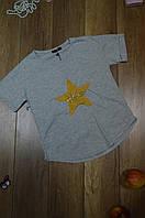 Женская приталенная футболка Турция  Серый
