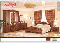 Спальня «Барокко» Вишня портофино Мебель Сервис