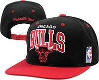 Кепка с прямым козырьком NBA Chicago Bulls Z-10620-1