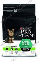 Сухой корм Pro Plan Small & Mini Puppy 3кг