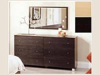 Комод в спальню, 0660-А-1, темный дуб. Тумбы комоды, купить комод киев недорого, комод Малайзия. купить комо