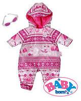 Зимняя одежда для куклы Baby Born Zapf Creation 821381