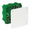 Коробка распределительная (бетон) 100х100х50, Sсhneider Eleсtriс Шнайдер, фото 2