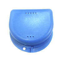 Коробка-контейнер синий для хранения ортозов, фото 1