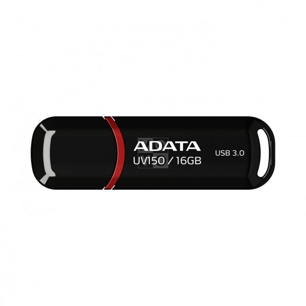 USB флешка 16GB A-Data UV150 Black (AUV150-16G-RBK)