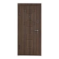 Входная дверь ТМ Министерство дверей ПО-02 орех белоцерковский, фото 1