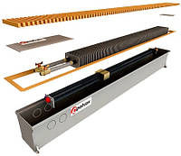 Радиатор с одним теплообменником и принудительной конвекцией POLVAX КV 1000x300x120