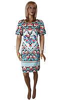 Летнее цветное платье Birlik №2533, фото 1