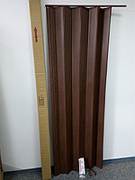 Гармошка ширмочка дуб темный 820х2030х0,6 мм гармошка раздвижная межкомнатная пластиковая глухая