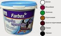 Краска резиновая Farbex для крыш и фасадов 12 кг