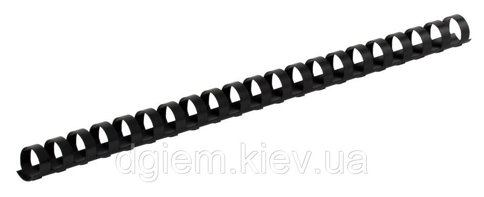 Пружины пластиковые d 14мм черные 100шт