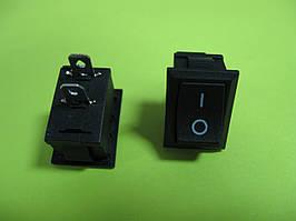 Переключатель ON-OFF (6A 250VAC) SPST 2P, черный