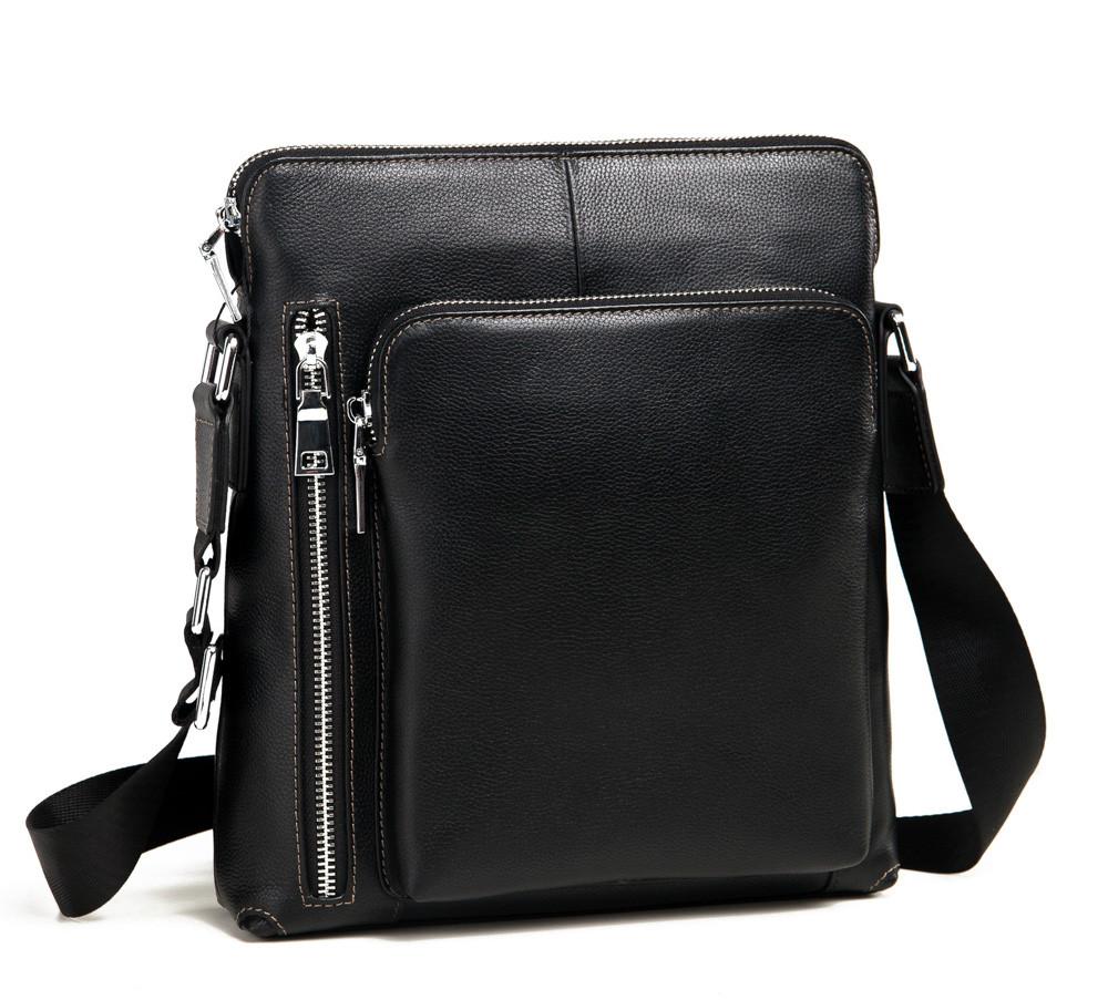 ab993b0f0200 Мужская сумка через плечо TIDING BAG M341-1A черная – купить в ...