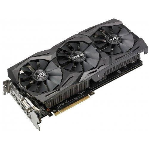 Видеокарта Asus PCI-Ex Radeon RX580 ROG Strix 8G (ROG-STRIX-RX580-T8G-GAMING)