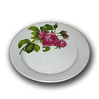 Тарелка керамика 175мм. Роза Кавказа