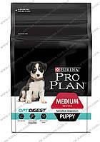 Сухой корм Pro Plan Medium Sensitive Puppy Salmon 12кг