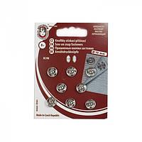 Кнопка пришивная Чехия 10 мм № 2, никель