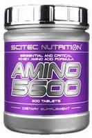 Купить аминокислоты Scitec Nutrition Amino 5600 (200 tabs)