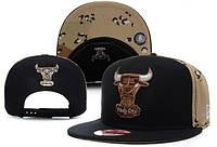 Кепка с прямым козырьком NBA Chicago Bulls Z-10620-2
