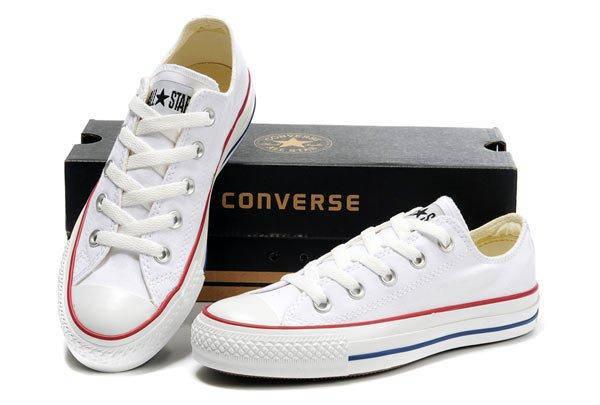 Женские кеды Converse All Star Low White, фото 4