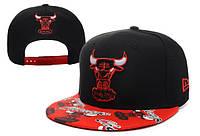 Кепка с прямым козырьком NBA Chicago Bulls Z-10620-3