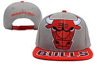 Кепка с прямым козырьком NBA Chicago Bulls Z-10620-4