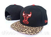 Кепка с прямым козырьком NBA Chicago Bulls Z-10620-6