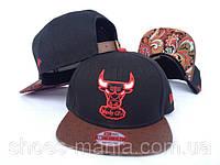 Кепка с прямым козырьком NBA Chicago Bulls Z-10620-7
