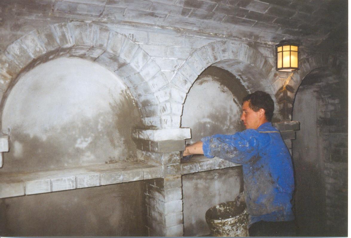 Гидроизоляция подземных сооружений гидроизоляционным материалом проникающего действия