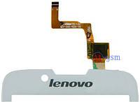 Тачскрин (сенсорный экран) для телефона Lenovo A328, A328T белый