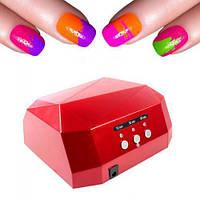 УФ лампа для ногтей 36Вт CCFL+LED UV таймер D-058