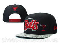 Кепка с прямым козырьком NBA Chicago Bulls Z-10620-10