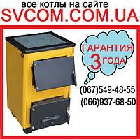 Котёл 18 кВт (с Плитой) /Двухконтурный/ Твердотоп OG-18PV
