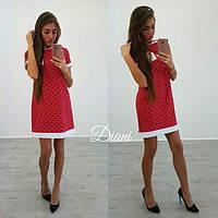 Женское модное платье с принтом (2 цвета)